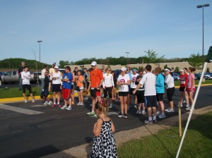 Half Marathon Starting lineup Lodi Mothers Day Run
